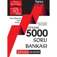 2018 Kpss Genel Yetenek Genel Kültür Efsane 5000 Soru Bankası