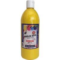 Rubenis Akrilik Boya 500 ml. Sarı RAC-500-1