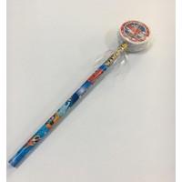 Harika Kanatlar SW-5975 Silgi Başlıklı Kurşun Kalem