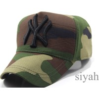 New York Sport Kamufulaj Unisex Şapka