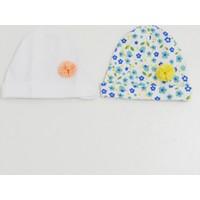 İdil Baby 9772 2'li Bebek Şapkası