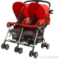 Sunny Baby Sb -760 Flamingo İkiz Bebek Arabası / Kırmızı