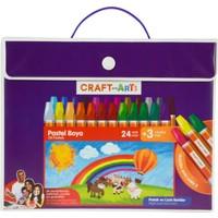 Craft And Arts Pastel Boya 24+3'Lü Çanta