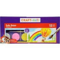 Craft And Arts Sulu Boya 12 Renk 28Mm Çap