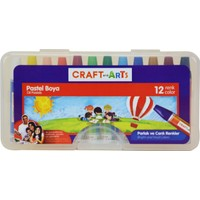 Craft and Arts Pastel Boya 12'li PP Kutu