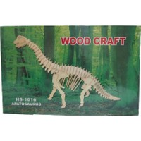 Woodoy Ahşap Puzzle Apatosaurus Bj-181016
