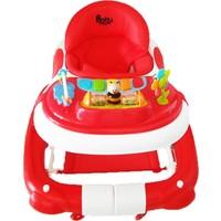 Babyhope Royal Salla Yürüteç - Kırmızı Bj-03212K