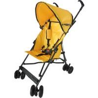 Dukaddo Bambi Baston Bebek Arabası Sarı Bj-D13806