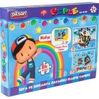 Pilsan Pepee Puzzle 84 Parça Bj-2103287