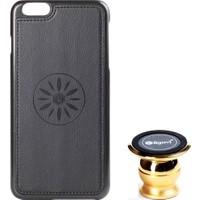 Ligovi Apple iPhone 6/6S Plus Uyumlu Car Popular Araç İçi Tutuculu Mıknatıslı Kılıf