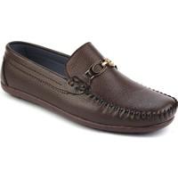 Gnc Kahverengi Deri Erkek Günlük Ayakkabı