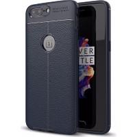 Case 4U OnePlus 5 Kılıf Darbeye Dayanıklı Niss Lacivert*