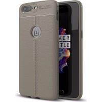 Case 4U OnePlus 5 Kılıf Darbeye Dayanıklı Niss Altın