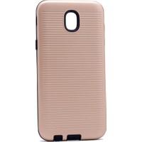 Case 4U Samsung Galaxy J730 You Koruyucu Sert Kılıf Altın
