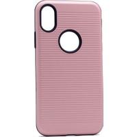 Case 4U Apple iPhone X You Koruyucu Sert Kılıf Rose Gold*