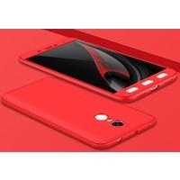 Case 4U Xiaomi Redmi Note 4X 360 Derece Korumalı Tam Kapatan Koruyucu Kılıf Kırmızı