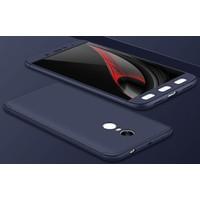 Case 4U Xiaomi Redmi Note 4X 360 Derece Korumalı Tam Kapatan Koruyucu Kılıf Lacivert