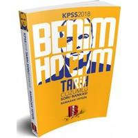 2018 Kpss Tarih Soru Bankası Benim Hocam Yayınları