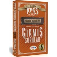 2018 Kpss Eğitim Bilimleri Tamamı Çözümlü Son 5 Yıl Çıkmış Sorular Yediiklim Yayınları