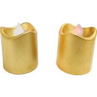 Elitetime Mum Tlayt Pilli Büyük Altın P12-480 - Ar1676A