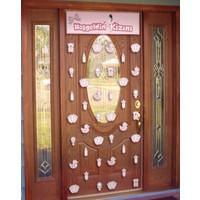 Elitetime Kapı Perdesi Hoşgeldin Kızım - Be4264