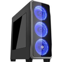Frisby FC-9235G USB 3.0 3 x 120mm 33 Led'li Fan Oyuncu Kasa (650W)