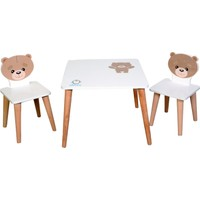 Lila Baby Çocuk Aktivite Oyun Masası 60 x 60 cm