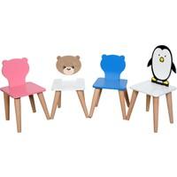 Lila Baby Çocuk Aktivite Sandalyesi Sevimli Ayı 30 x 30 cm
