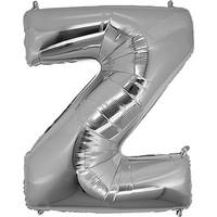 PartiBulutu Z Harf Gümüş Folyo Balon 40 cm