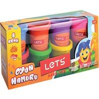 Lets Oyun Hamuru 8 Renk 448Gr L8358