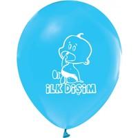 Hepsi Dahice Lisanslı Diş Buğdayı Balonu Erkek Mavi 16 Adet