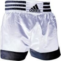 Adidas ADISTH07 Muay Thai Şortu Beyaz-Siyah