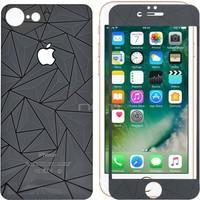 Sonmodashop Apple iPhone 7 Ön Arka 3D Siyah Ekran Koruyucu