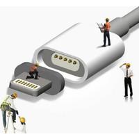 Rowen Apple iPhone 7 7 Plus 2A Naylon Fiber Mıknatıslı Manyetik Lightning Şarj Data Kablosu