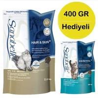 Sanabelle Uzun Tüylü Kediler İçin Tahılsız Kedi Maması 2Kg + 400 Gr Hediye