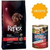Reflex Plus Kuzu Etli Yavru Köpek Maması 3 Kg