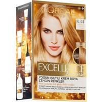 L'oréal Paris Excellence Intense Saç Boyası 8.34 Zengin Sıcak Sarı