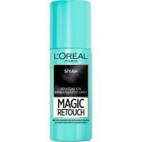 L'oréal Paris Magic Retouch Beyazlar İçin Anında Kapatıcı Sprey - Siyah