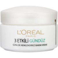 L'Oréal Paris 3 Etkili Günlük Bakım Kremi Normal Ve Karma Ciltler 50ml