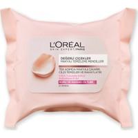 L'Oréal Paris Değerli Çiçekler Makyaj Temizleme Mendilleri Kuru ve Hassas Ciltler