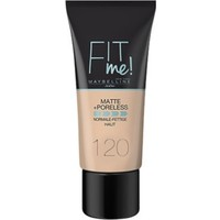 Maybelline New York Fit Me Matte+Poreless Fondöten 120 Classic Ivory