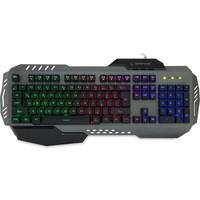 Everest Rampage KB-R79 Gökkuşağı Aydınlatmalı USB Gaming Q Multimedia Klavye