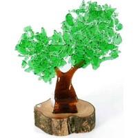 Cam Stüdyo Doğa'nın Rengi – Çift Dallı Ağaç Mumluk