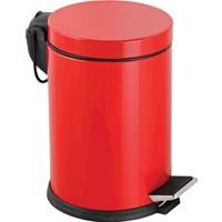 Laısy 811K 3 Lt Pedallı Çöp Kovası - Kırmızı