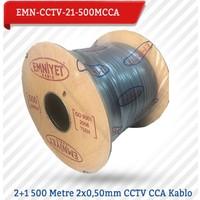 Emnıyet 2+1 500 Metre 2X0,50Mm Cctv Cca Kablo Emn-Cctv-21-500Mcc