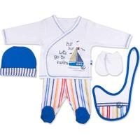Baby Center S92711 Yelkenli 5'li Bebek Zıbın Takımı