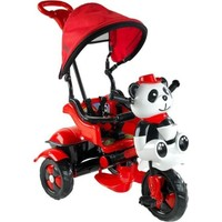 Ümit 127 Little Panda Tenteli Bisiklet Kırmızı - Siyah