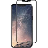 Dafoni iPhone X Curve Tempered Glass Premium Full Siyah Cam Ekran Koruyucu