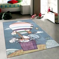 Merinos Pastel 21919 120x170 cm Sevimli Karakterler Çocuk Halısı