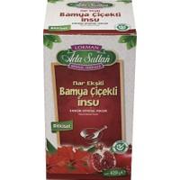 Ada Sultan Bamya Çiçekli Nar Ekşili Bitkisel Macun 420 gr